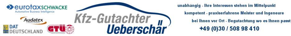 KFZ Gutachter Ueberschär